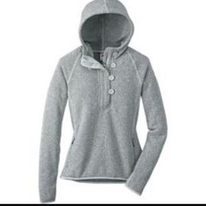 North face hooded pullover